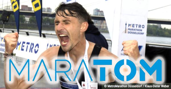 Schafft unser MaraTom das Double? - Deutsche Marathonmeisterschaften in Düsseldorf